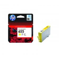 Tusz HP (655) YELLOW CZ112A