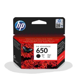 Tusz HP (650) CZARNY CZ101AE