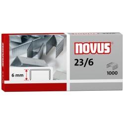 Zszywki 23 6 (1000) Novus