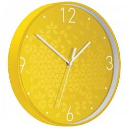 Zegar Leitz Wow żółty 90150016