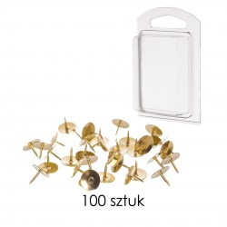 Pinezka złota (100 szt )...