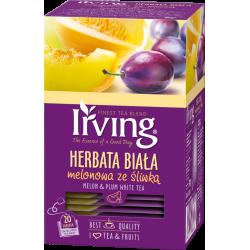 Herbata Irving biała melon...