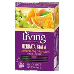 Herbata Irving biała pom...