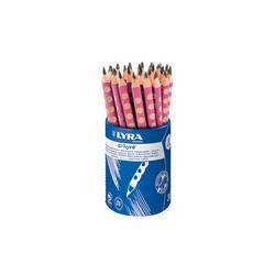 Ołówek Groove Lyra B różowy...