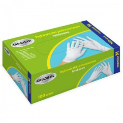Rękawice lateksowe M (100)...