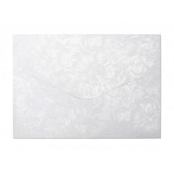 Koperta C5 10 białe róże...