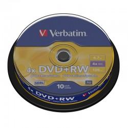 Płyta DVD+RW Verbatim 4 7GB...