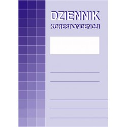 Dziennik korespodencji MiP...