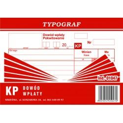 Dowód wpłaty KP Typograf...